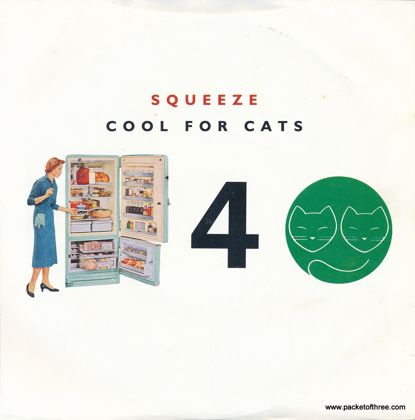 """Cool For Cats - UK - 7"""" - picture sleeve reissue"""