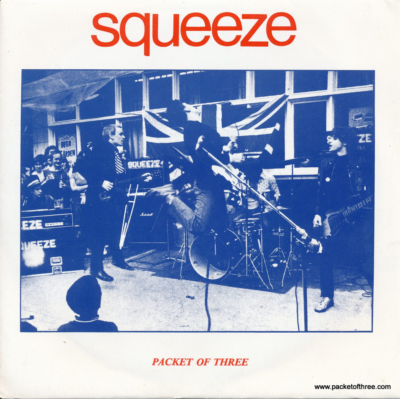 Packet of Three – UK – 7″ – picture sleeve – second reissue