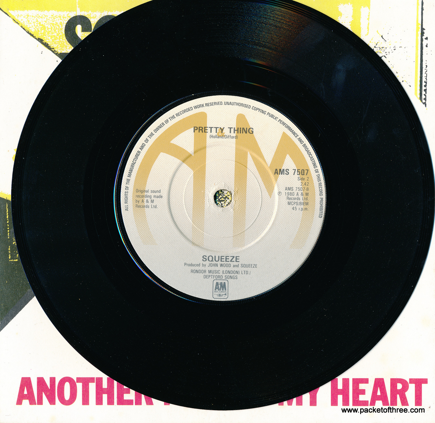 "Another Nail In My Heart - UK - 7"" - Picture Sleeve"
