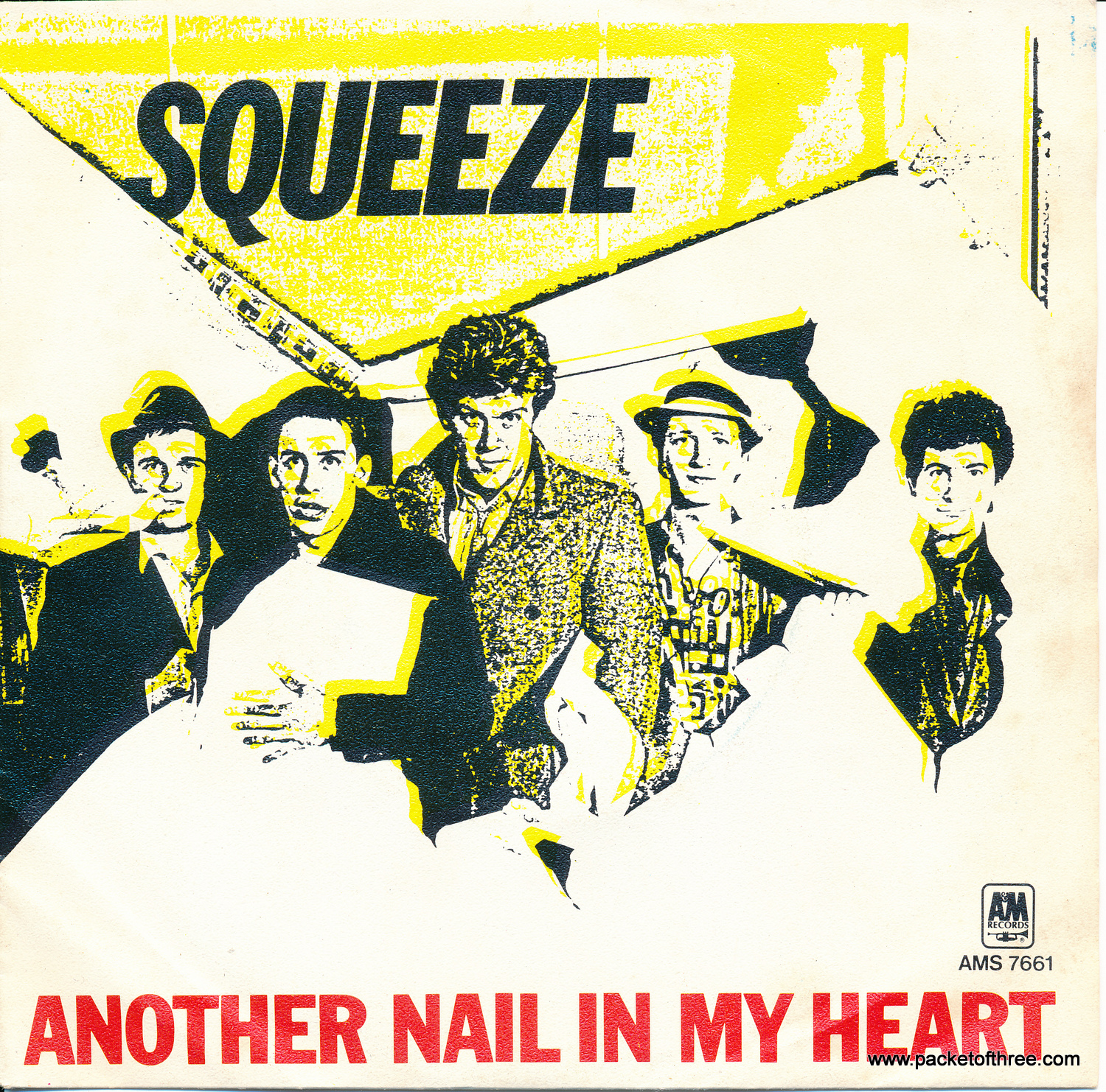 """Another Nail In My Heart - Netherlands - 7"""" - Picture Sleeve"""