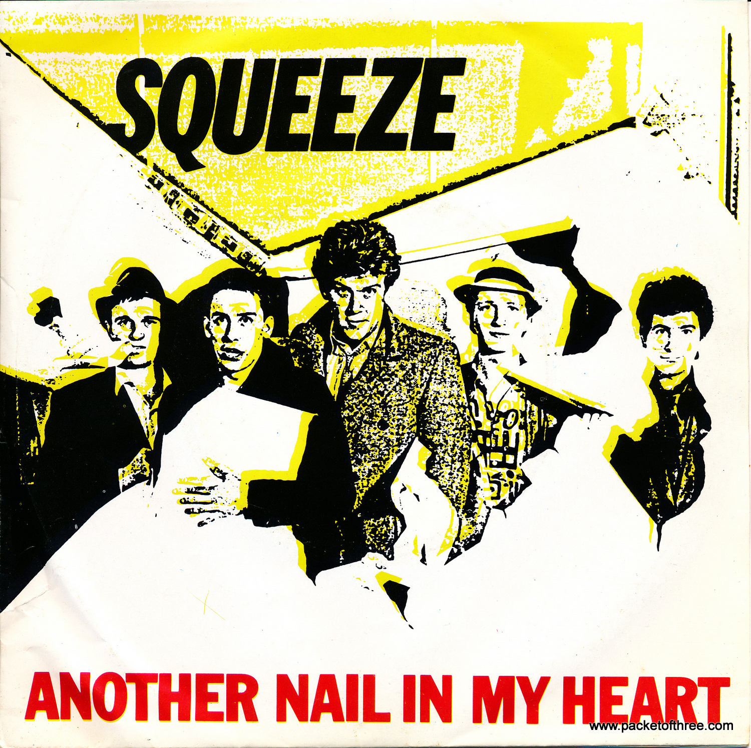 """Another Nail In My Heart - Portugal - 7"""" - Picture Sleeve"""