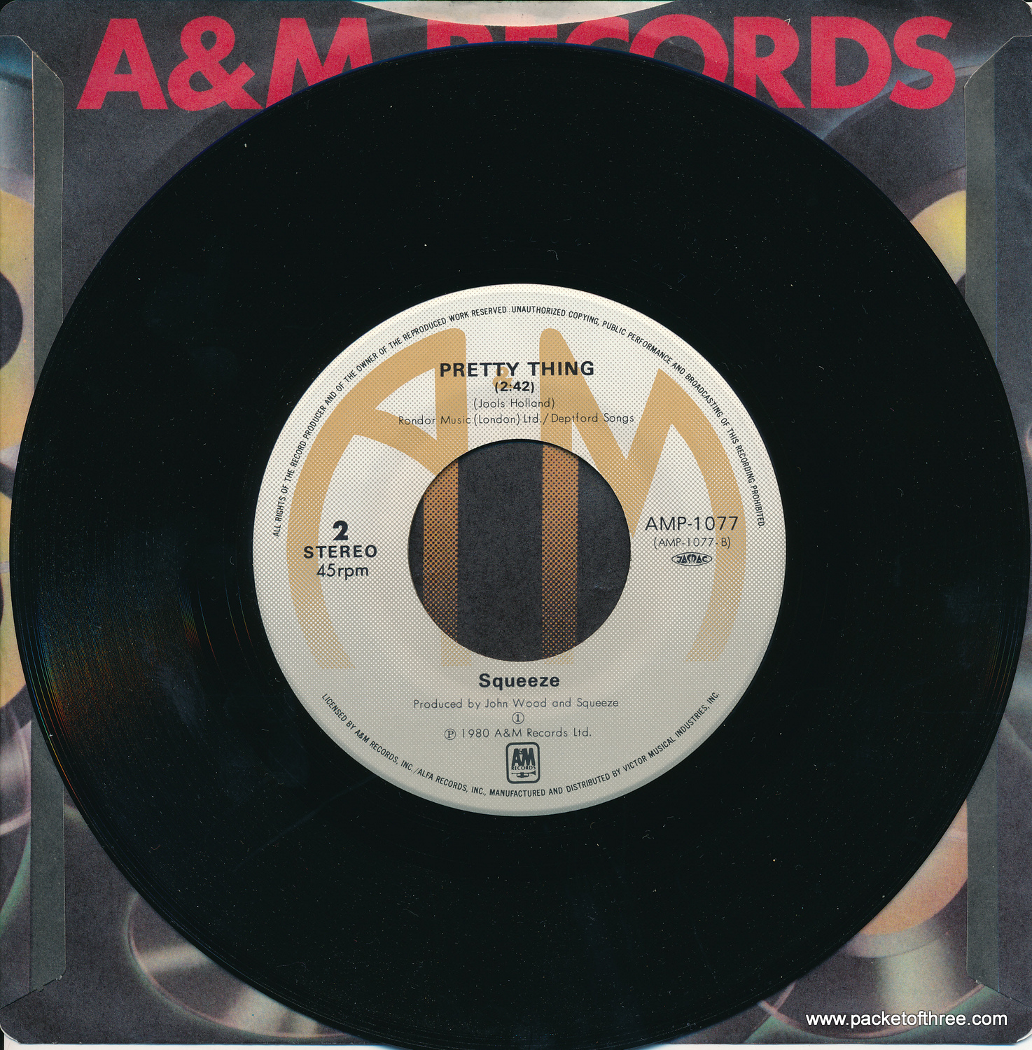 "Another Nail In My Heart - Japan - 7"" - Picture Sleeve"