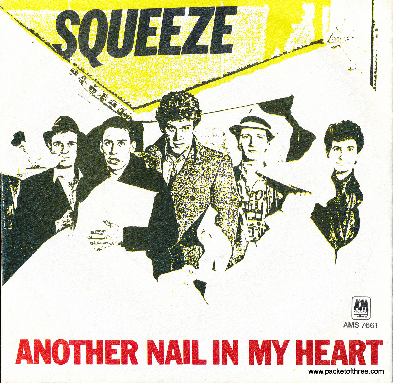 "Another Nail In My Heart - Netherlands - 7"" - Picture Sleeve"