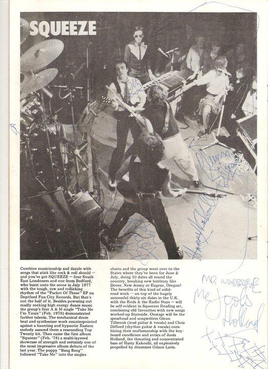 First autographs