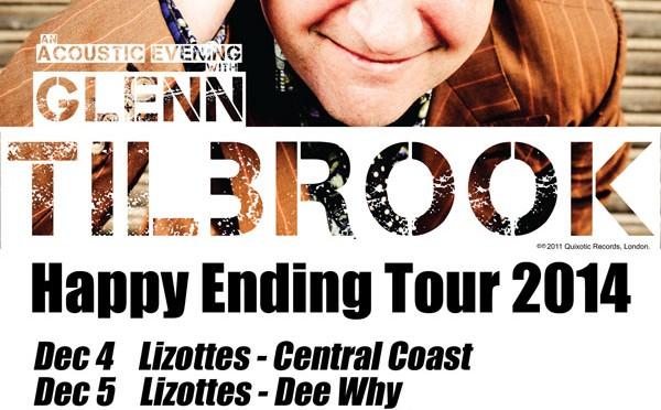 Glenn Tilbrook Happy Ending Tour 2014