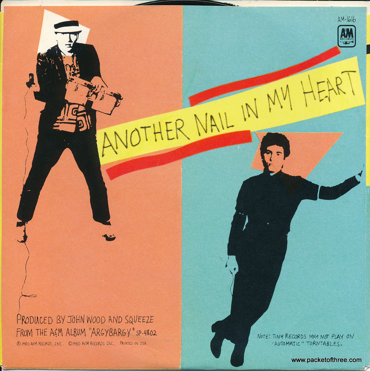 """If I Didn't Love You - USA - 5"""" picture sleeve"""