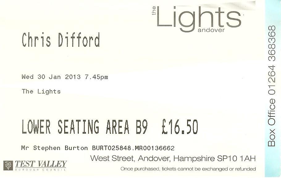 2013-01-30 ticket