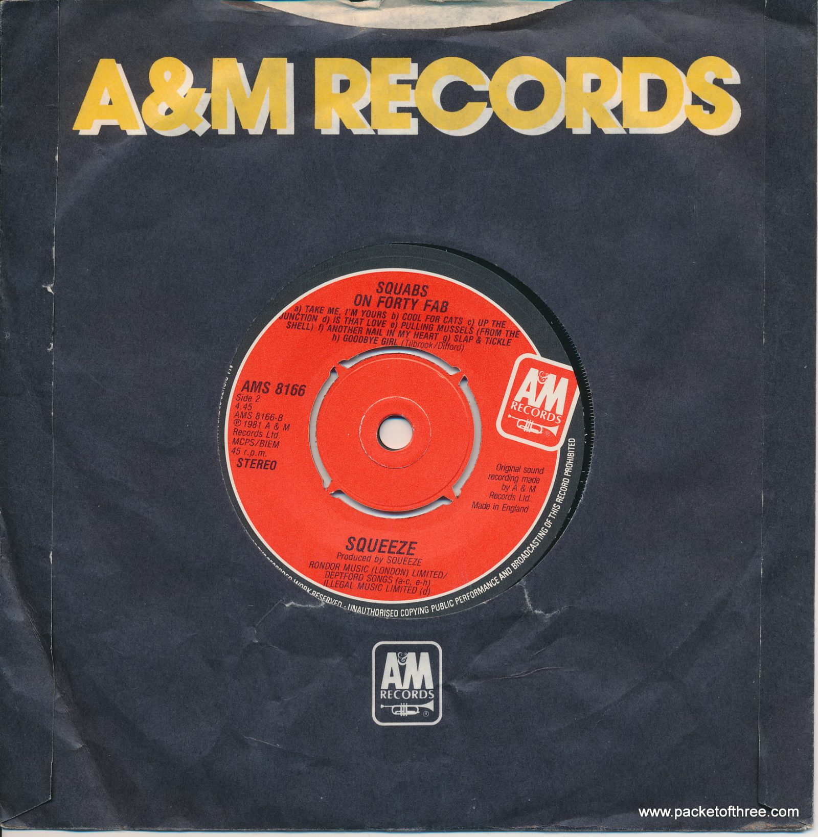 """Labelled With Love - UK - 7"""" - jukebox pressing"""