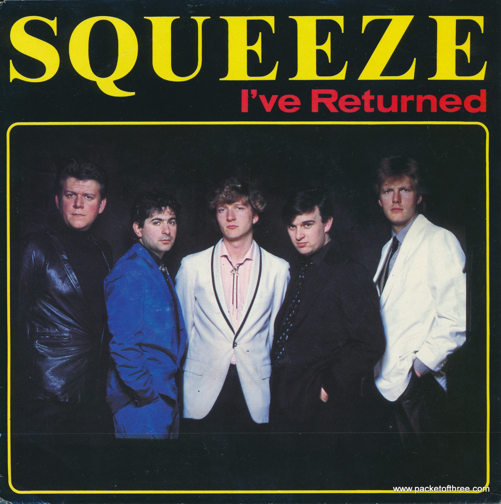 "I've Returned - Netherlands - 7"" - picture sleeve"