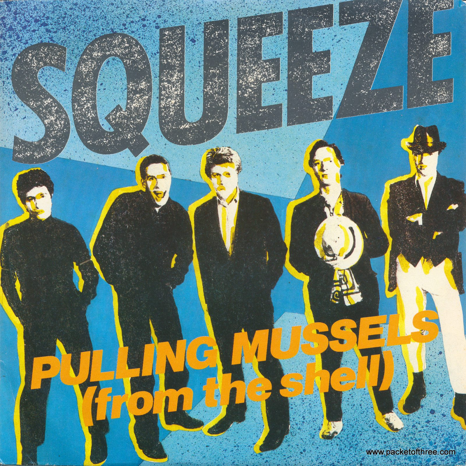 Pulling Mussels (From the Shell) – Italy – 7″ – picture sleeve - promotional copy