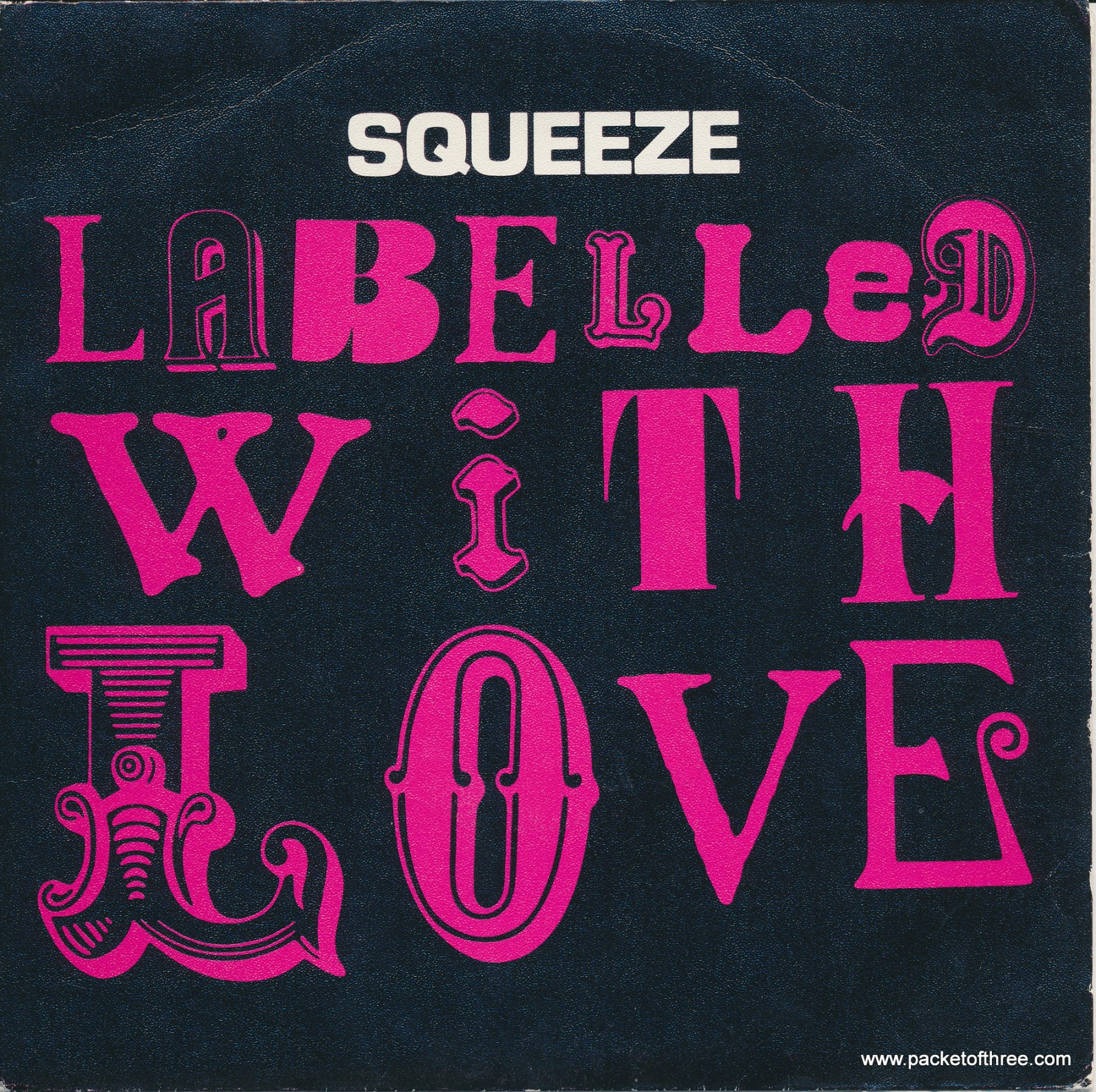 """Labelled With Love - Spain - 7"""" - picture sleeve"""