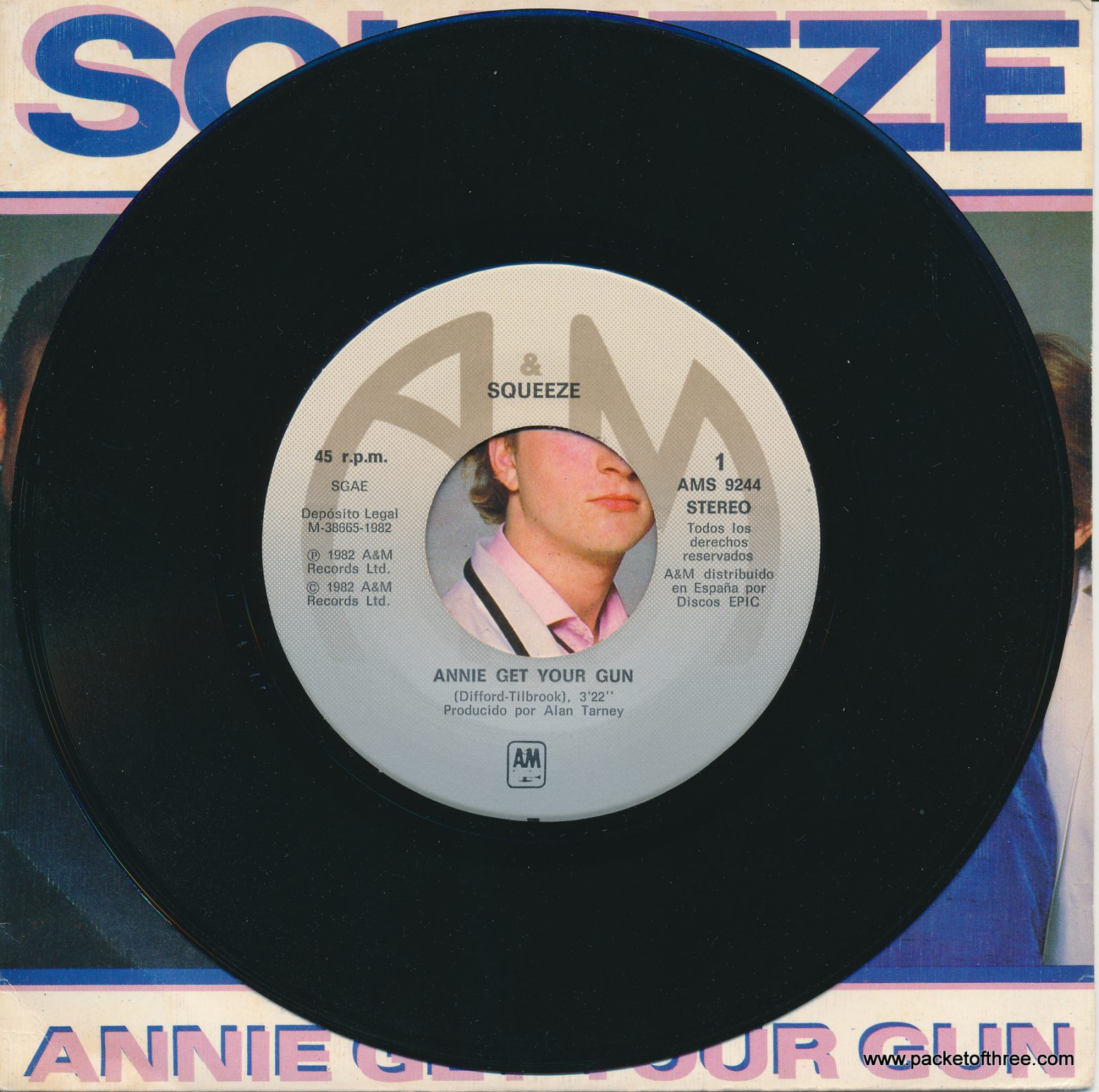 "Annie Get Your Gun - Spain - 7"" - picture sleeve"