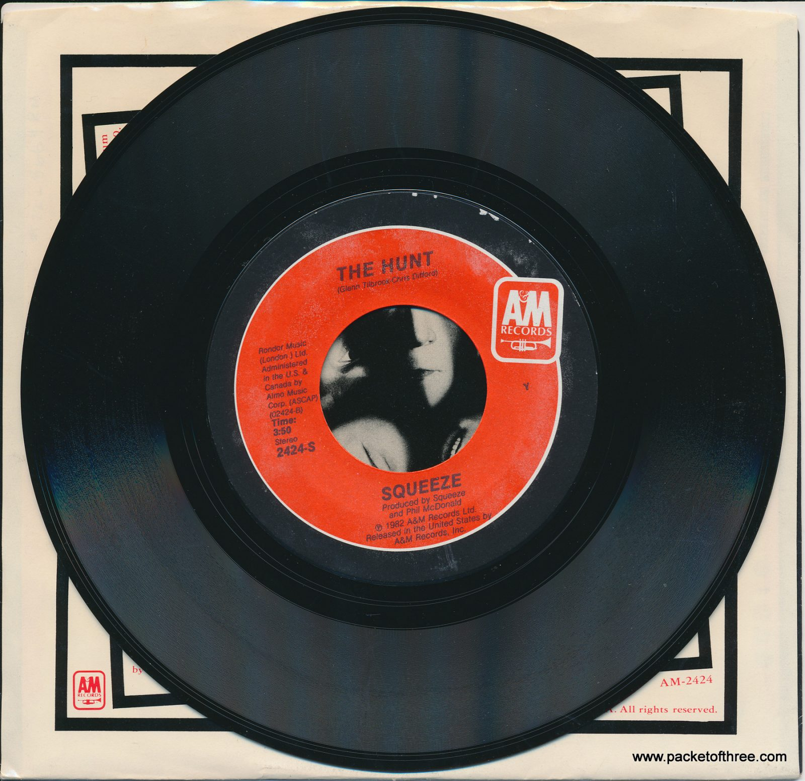 "Black Coffee In Bed - USA - 7"" - picture sleeve"