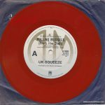 """Pulling Mussels (From the Shell) - Australia - 7"""" - red vinyl - paper sleeve"""