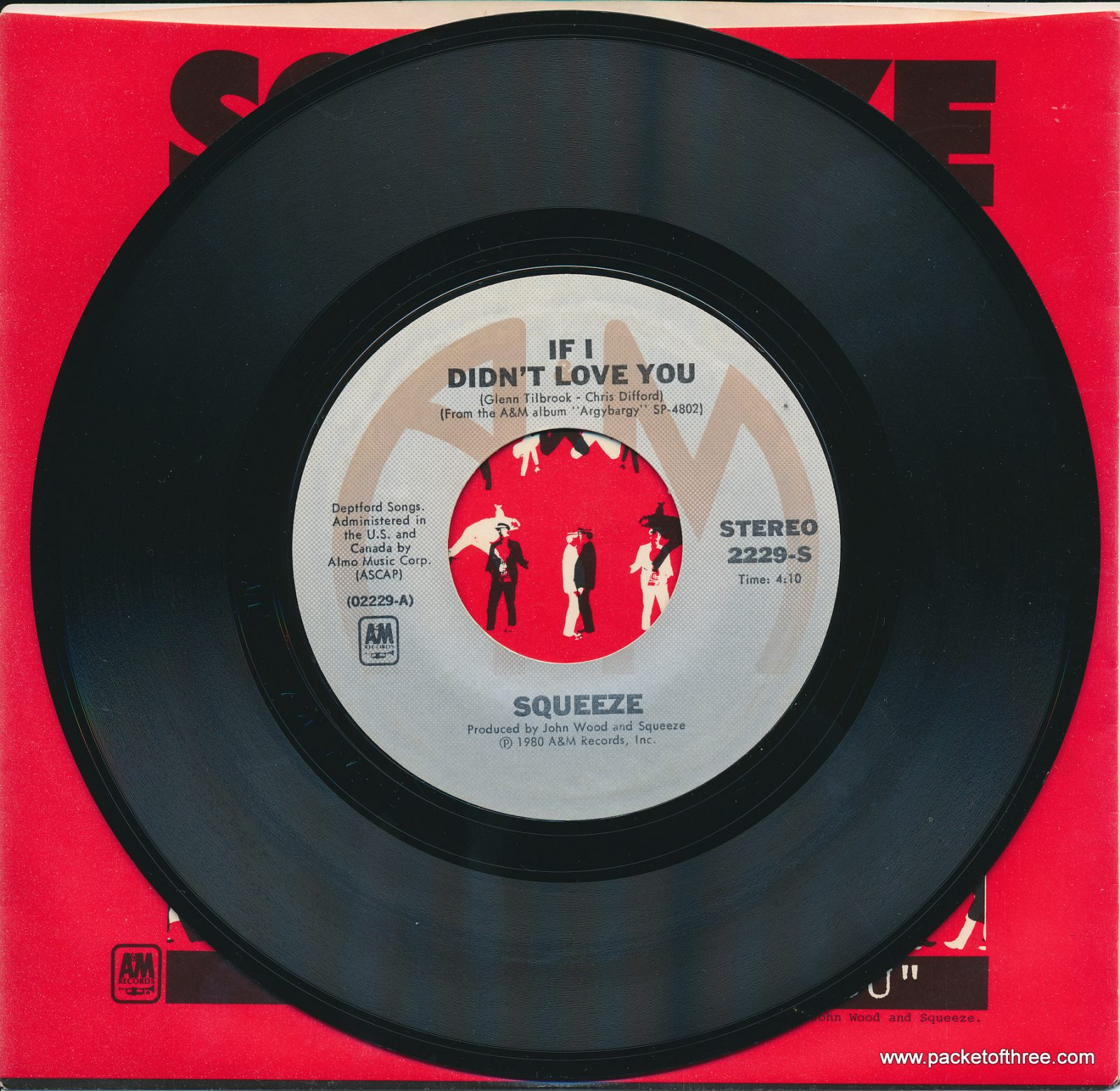 "If I Didn't Love You - USA - 7"" - picture sleeve"