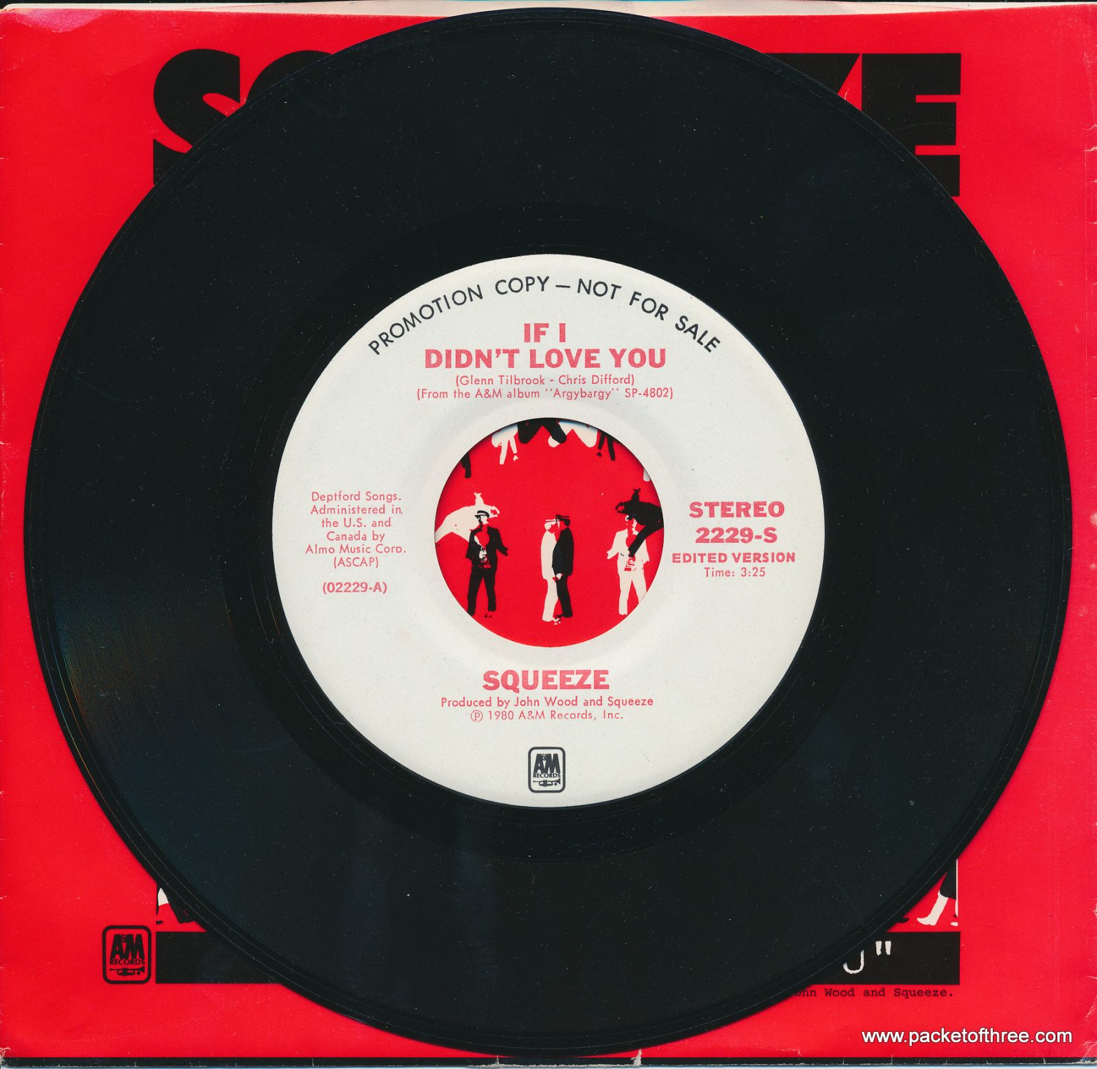 "If I Didn't Love You - USA - 7"" - picture sleeve - stereo/stereo promotional copy"