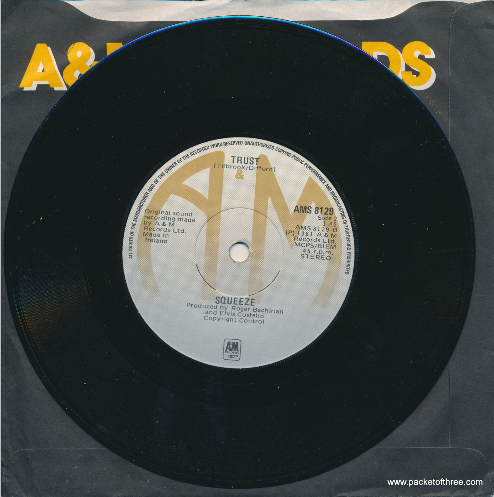 Is That Love - Ireland - 7""