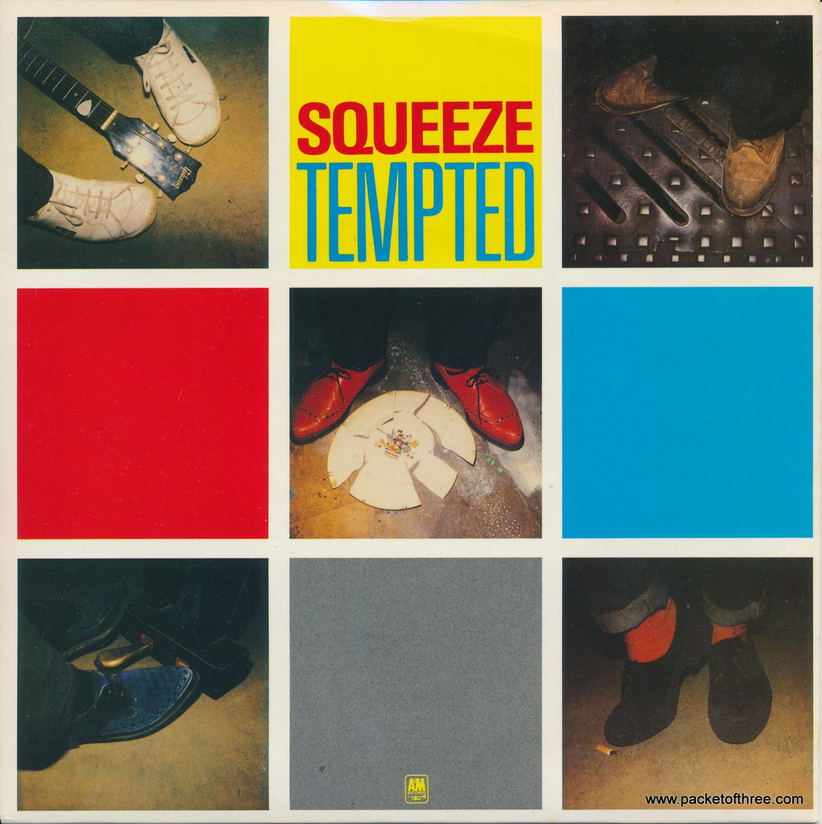 """Tempted - UK - 7"""" - picture sleeve"""