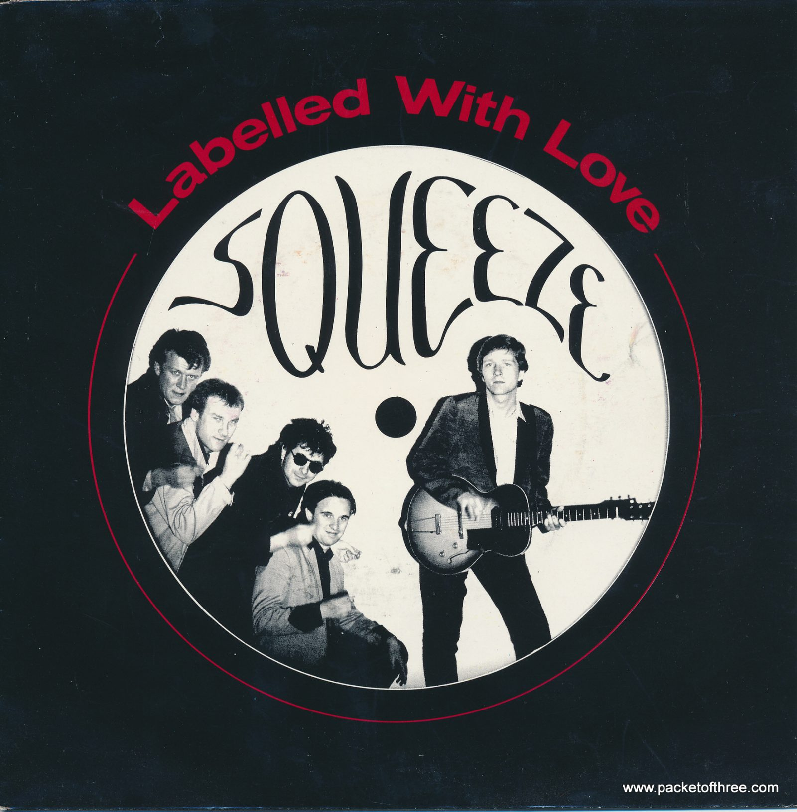 """Labelled With Love - Netherlands - 7"""" - picture sleeve"""