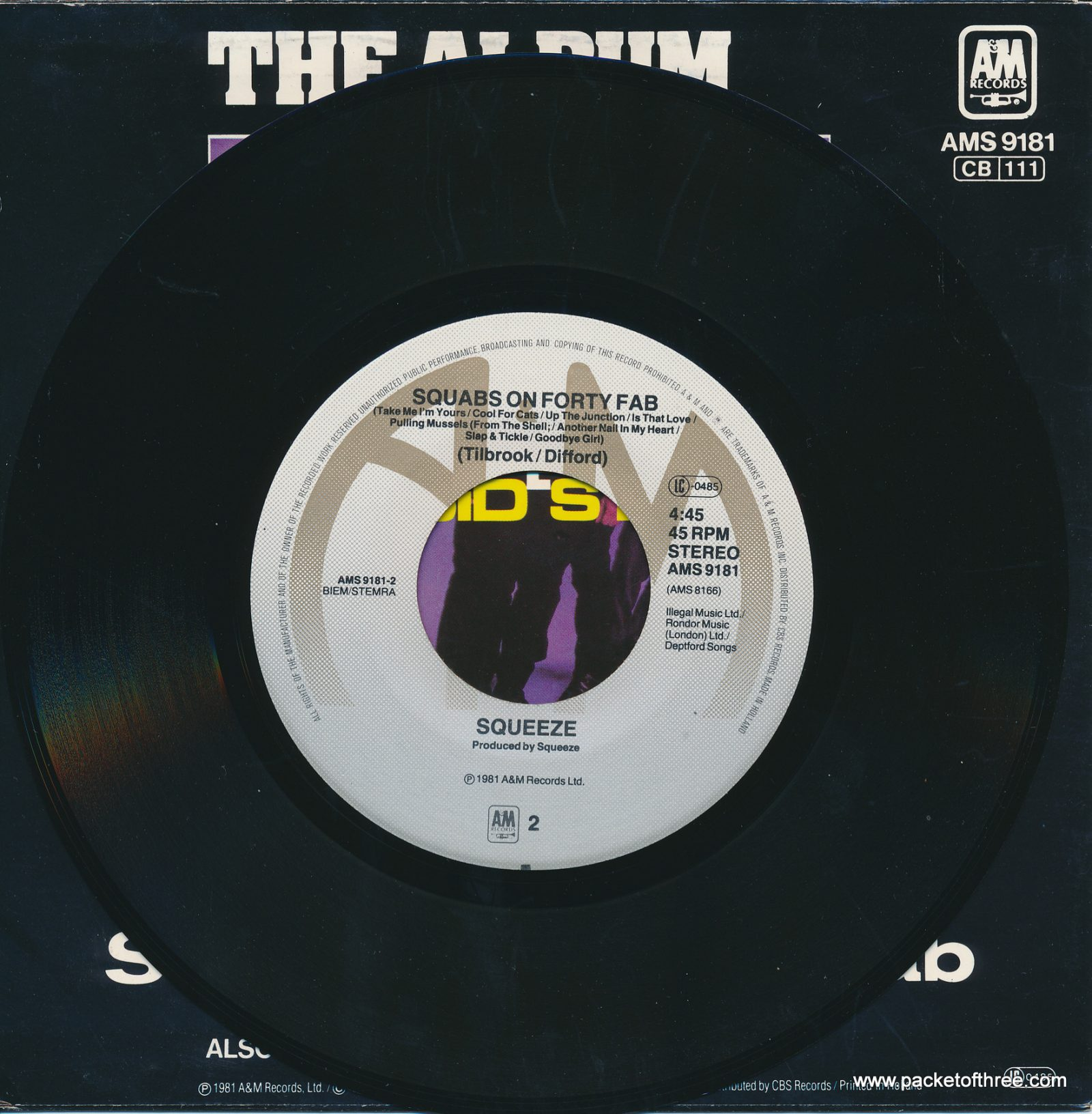 "Labelled With Love - Netherlands - 7"" - picture sleeve"