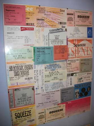 Lee Richardson's tickets