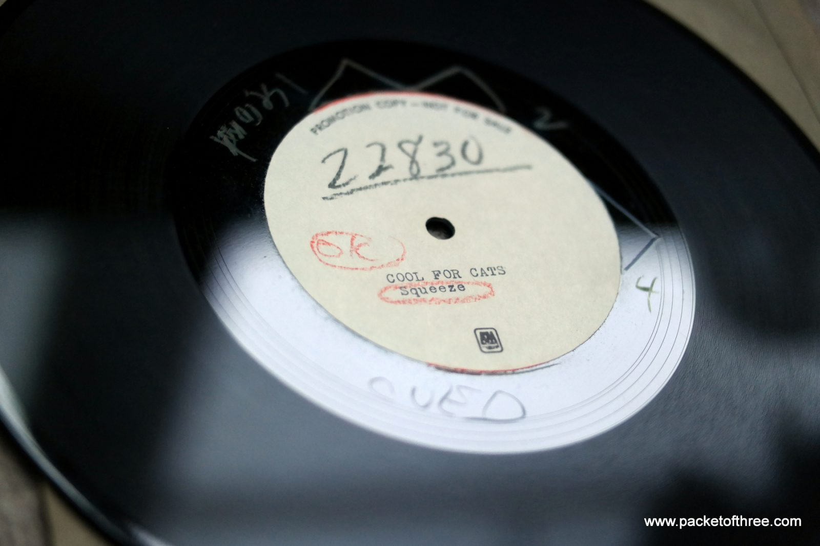 """Cool For Cats - USA - 10"""" - Acetate"""