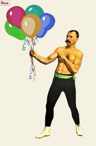 Glenn Tilbrook balloons