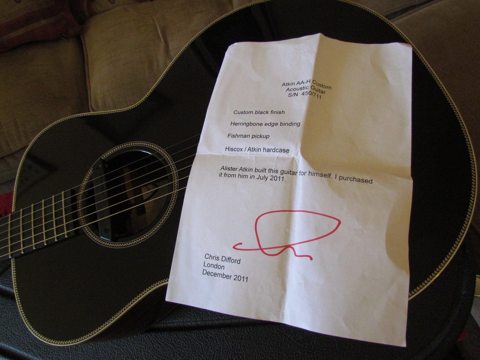 Custom Acoustic Guitar Signature