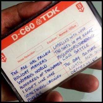 East Side Story Demo cassette