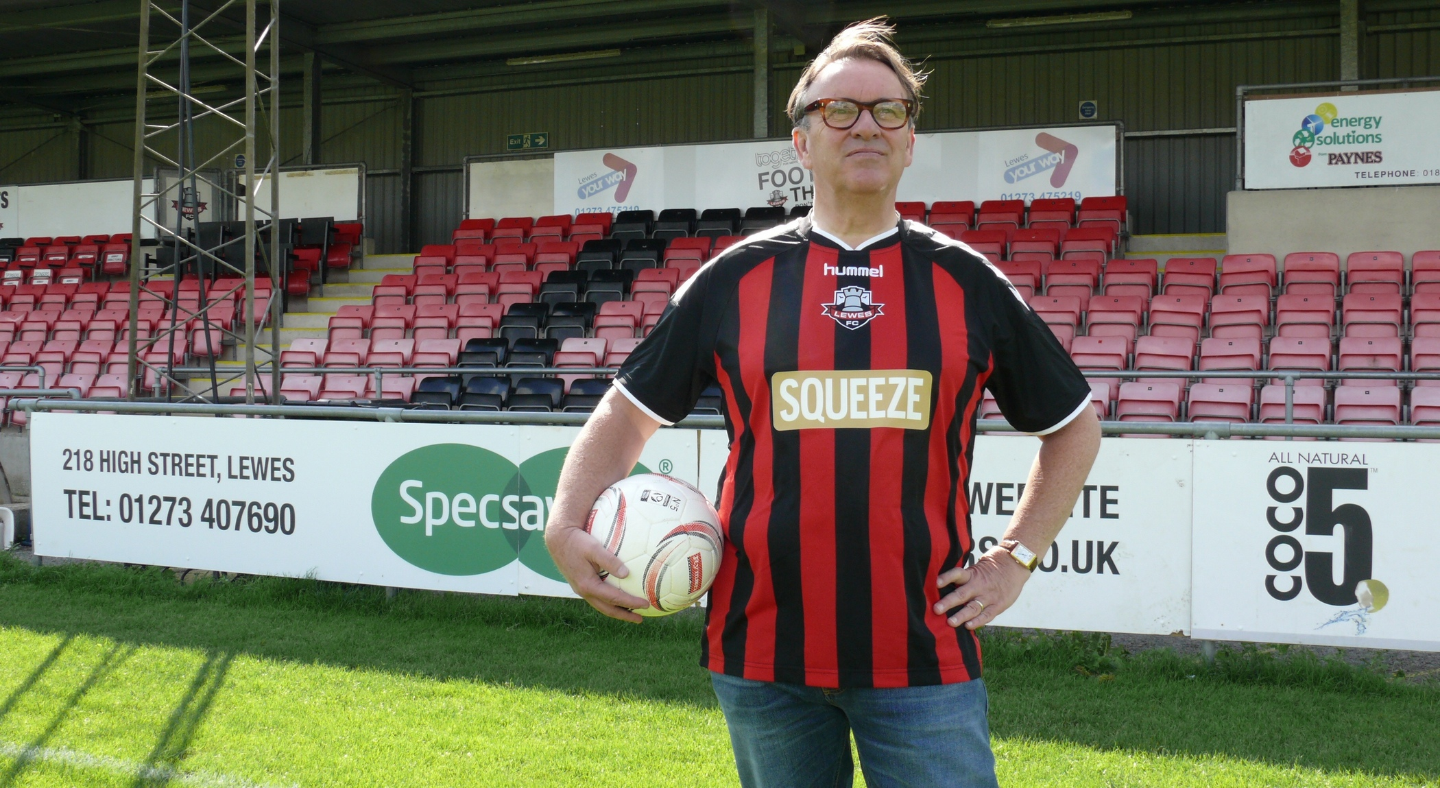 2015-09 Chris Difford in Lewes Shirt
