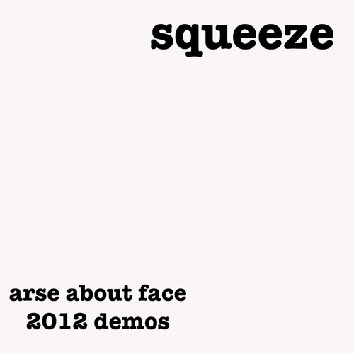 Arse About Face CD Sleeve