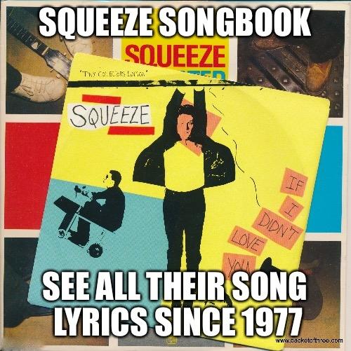 Squeeze Songbook