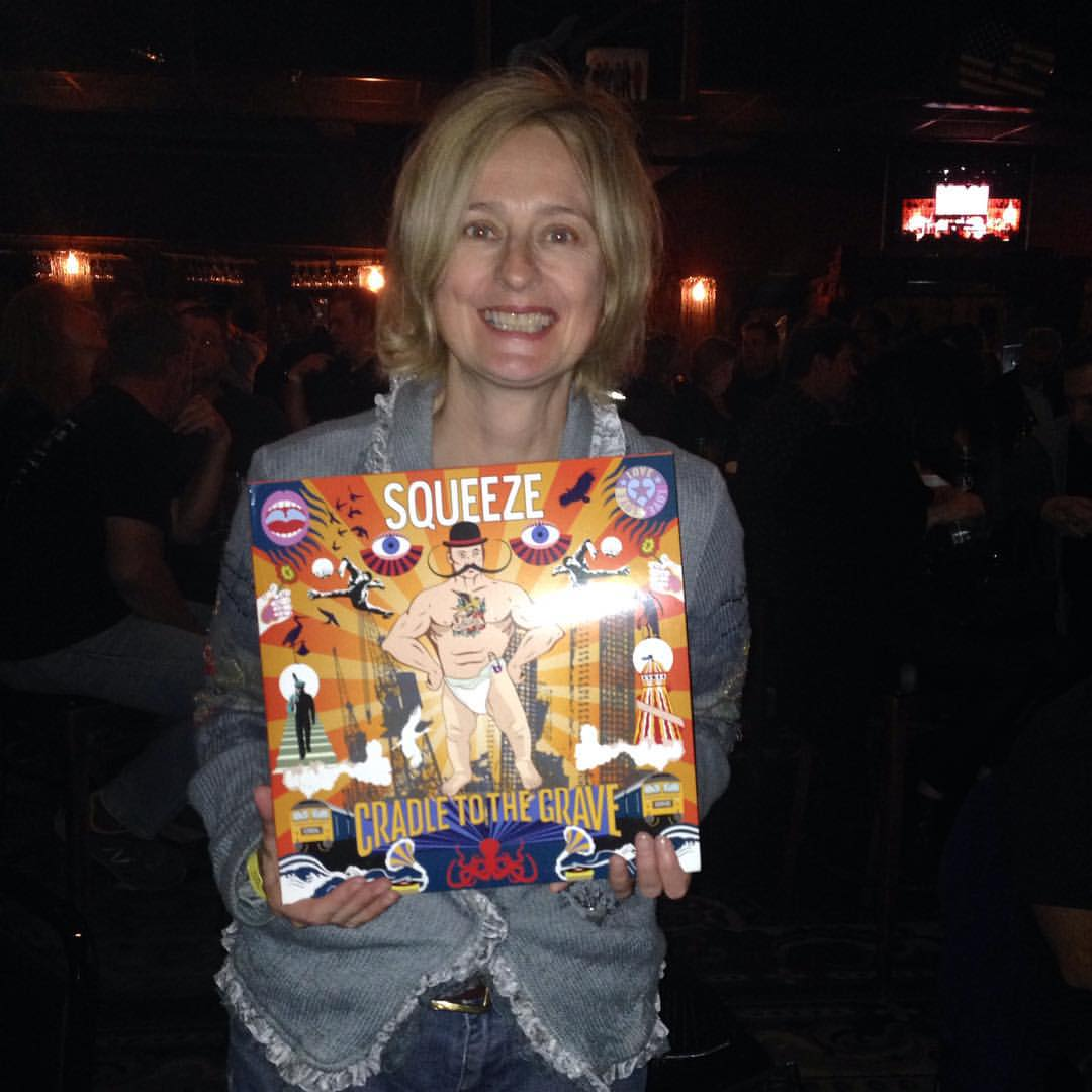 "2015-11-17 Julia Fordham ""The songs on the new Squeeze album are as fantastic as the cover. Chris Difford and Glenn Tilbrook were as brilliant as ever at The Canyon Club."""