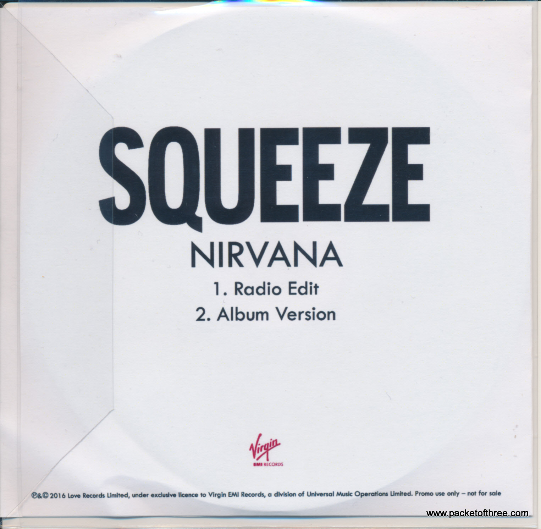 Nirvana - UK - CD - promo