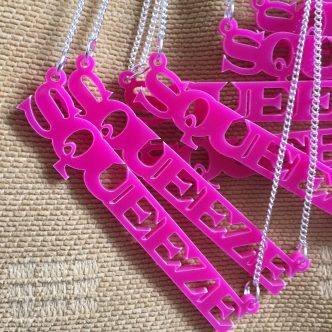 Squeeze Necklaces