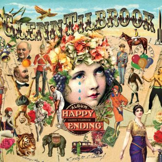 Happy Ending LP Cover - Glenn Tilbrook