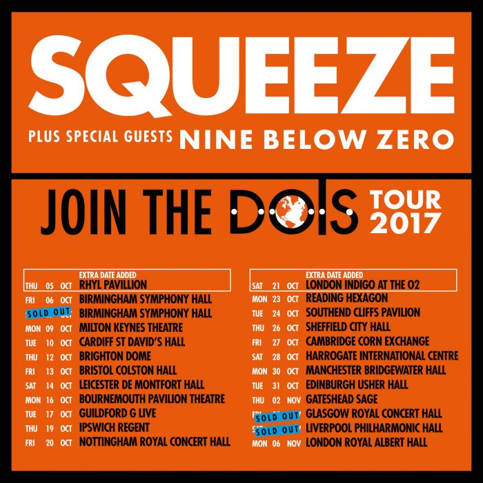 Squeeze Join The Dots UK Tour 2017