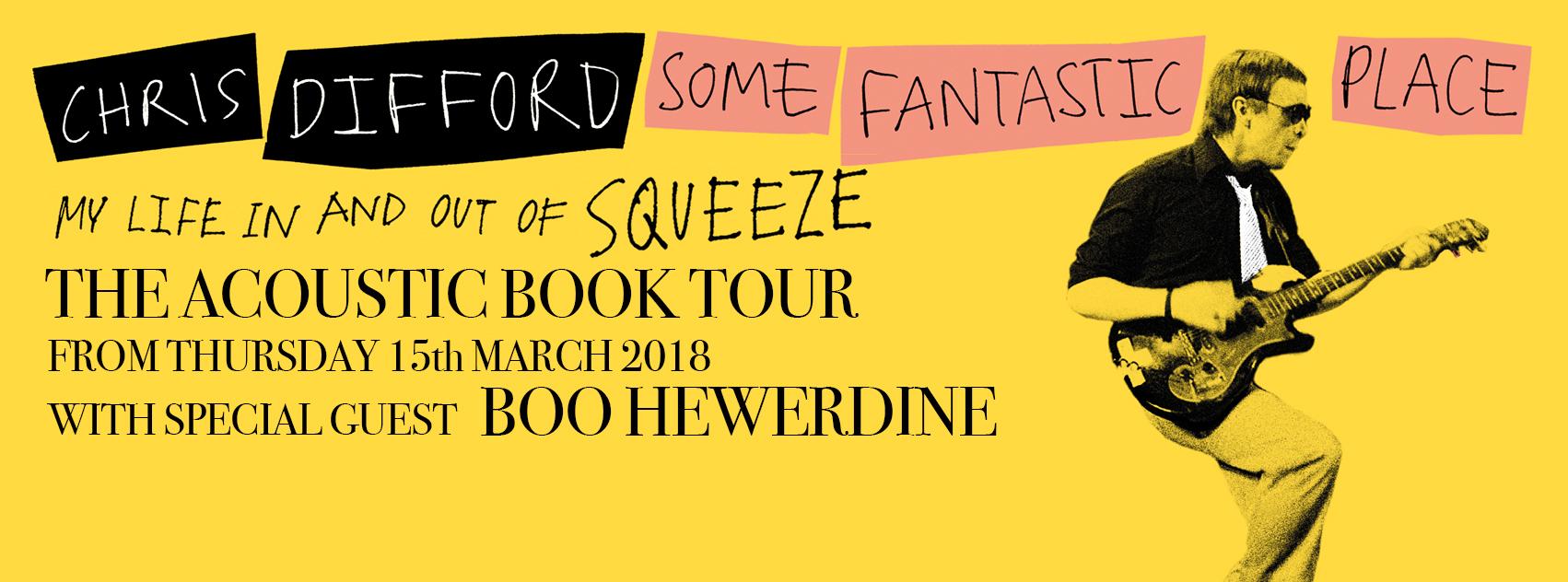 Some Fantastic Place - Acoustic Book Tour