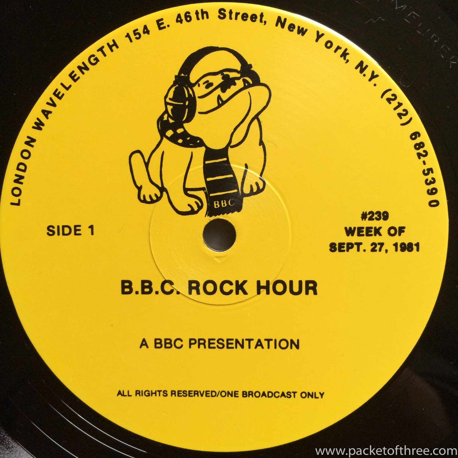 BBC Rock Hour 239 - Squeeze - packetofthree