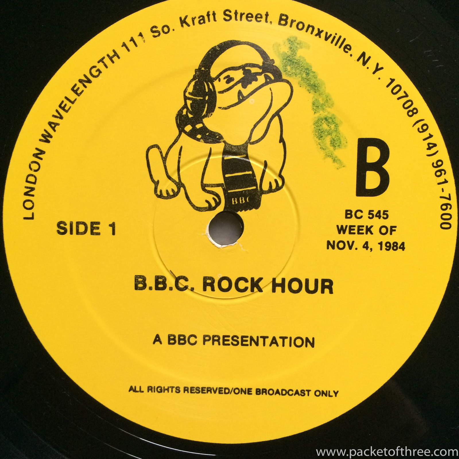 BBC Rock Hour 545 - Squeeze - packetofthree