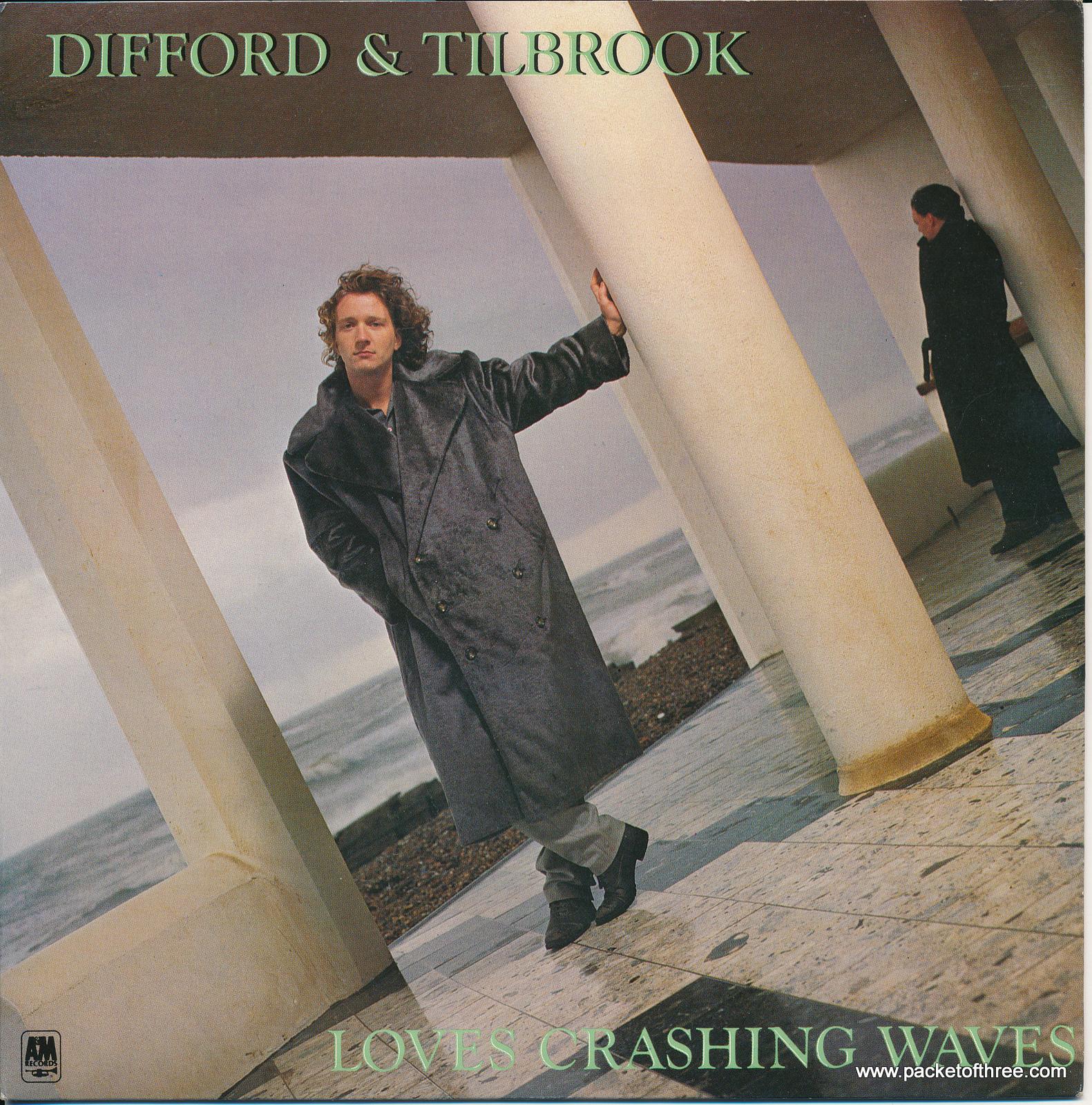 Loves Crashing Waves - UK - picture sleeve