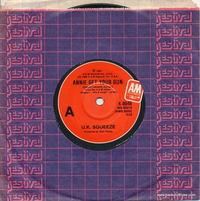 """Squeeze - Annie Get Your Gun - Australia - 7"""""""