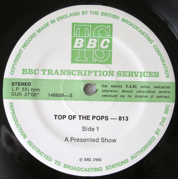 Top of the Pops 813 - packetofthree