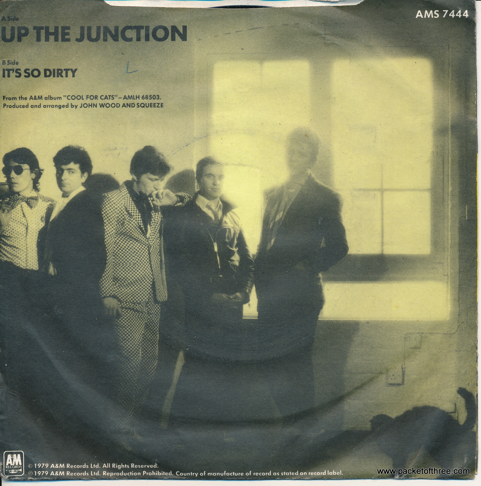"Up the Junction - UK 7"" - matt sleeve"