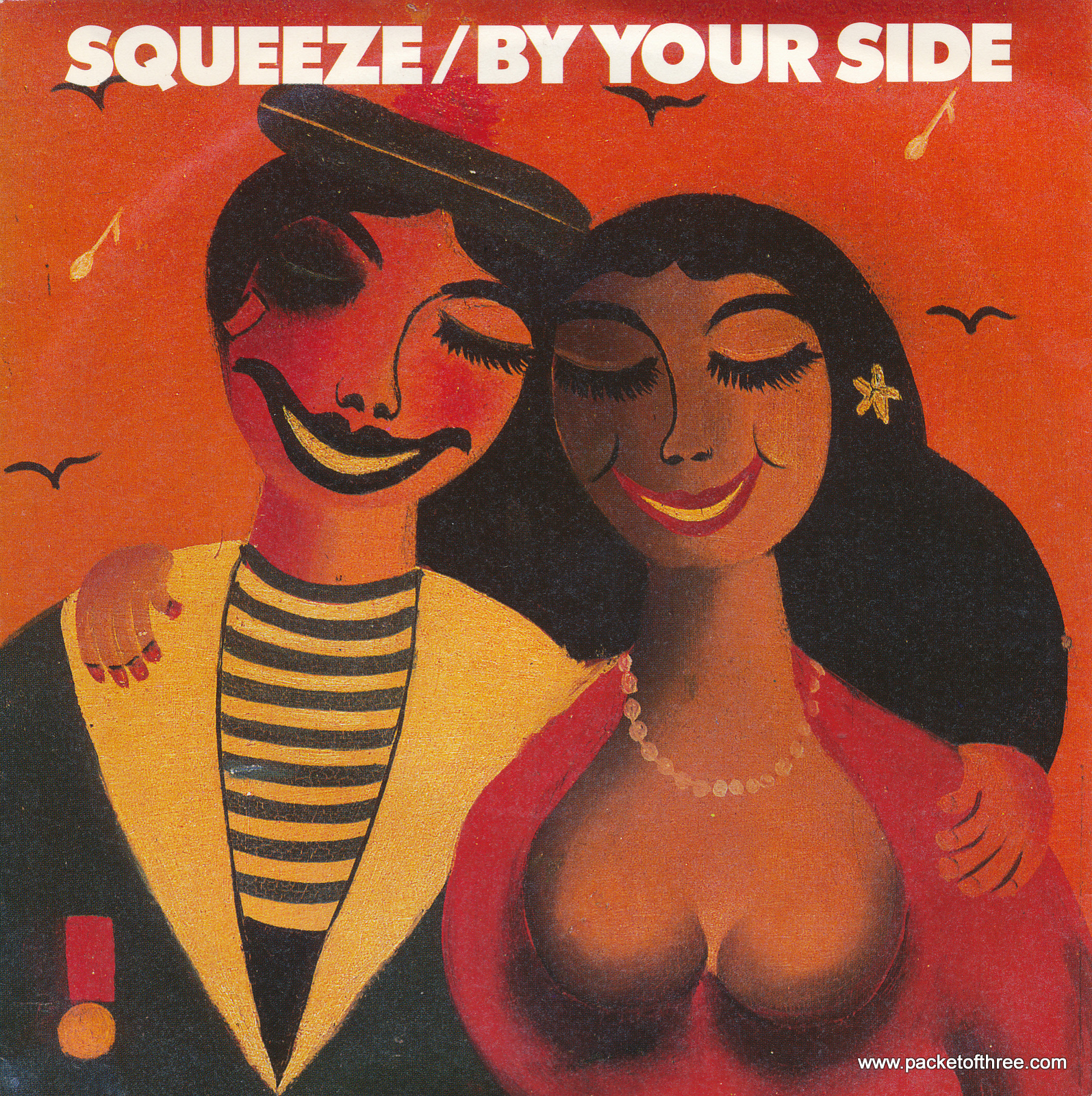 "Squeeze - By Your Side - Germany - 7"" - picture sleeve"