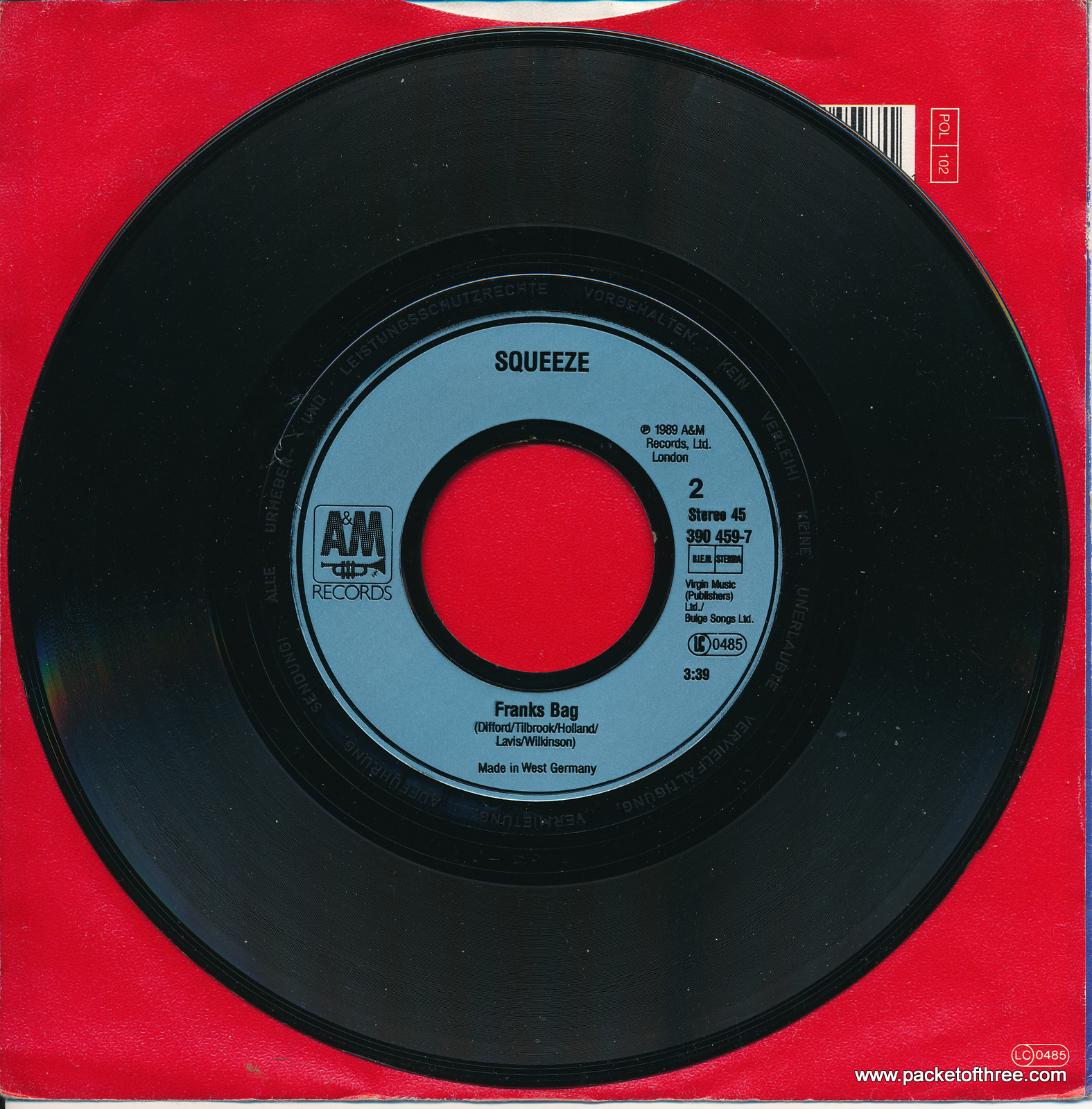 "If It's Love - Germany - 7"" - picture sleeve"