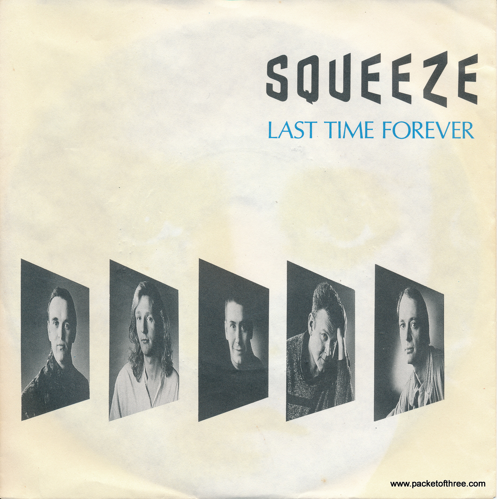 """Squeeze - Last Time Forever - Germany - 7"""" - picture sleeve"""