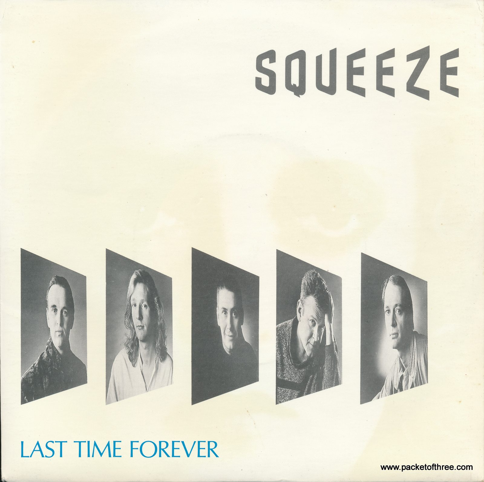 "Squeeze - Last Time Forever - UK - 7"" - picture sleeve"