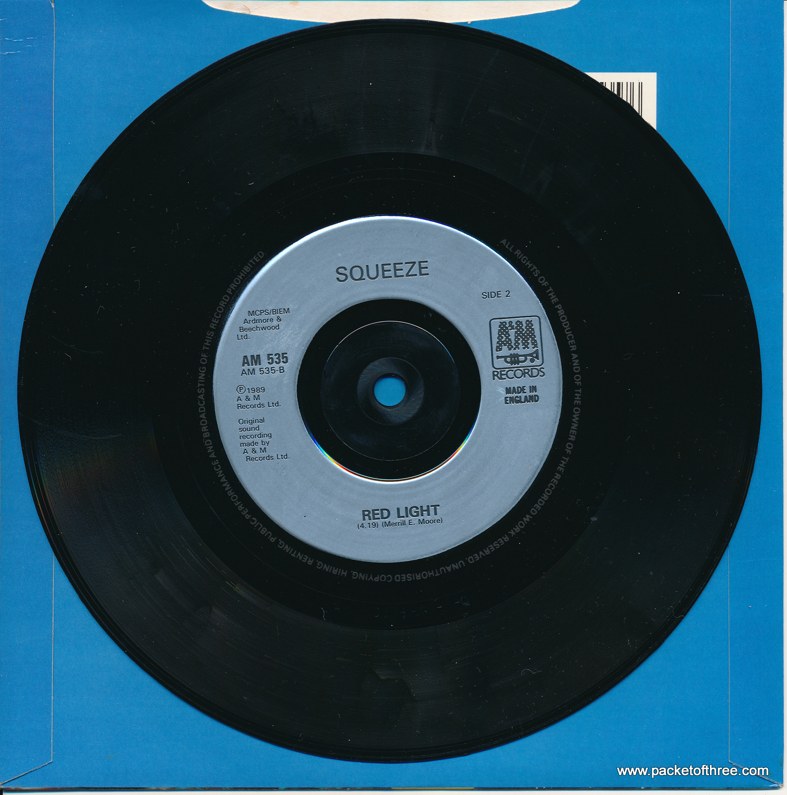 """Love Circles - UK - 7"""" - picture sleeve"""