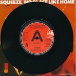 "Squeeze - No Place Like Home - UK - 7"" - promotional copy - picture sleeve"